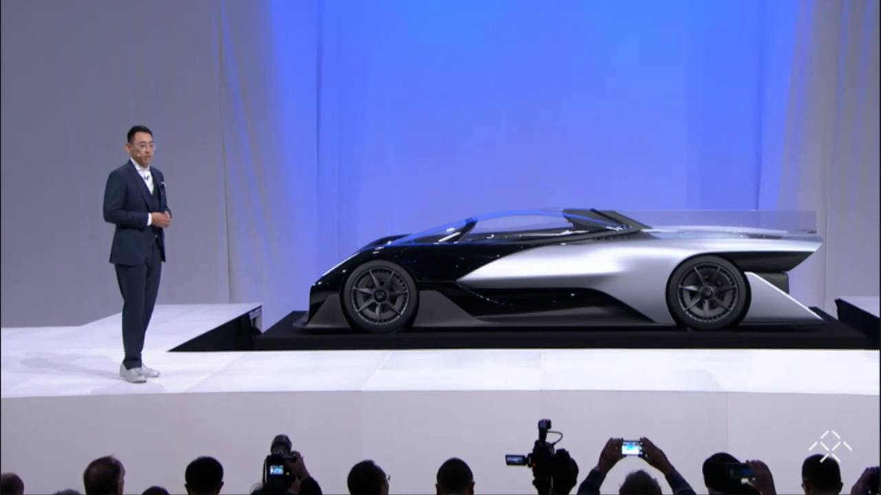 Future Of The Car: Faraday Future Car 2016