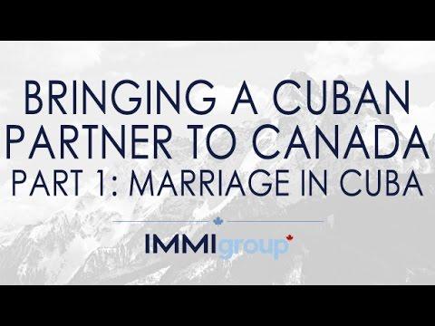 Bringing A Cuban Partner To Canada Part 1: Marriage In Cuba