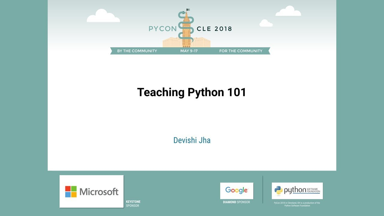 Image from Teaching Python 101