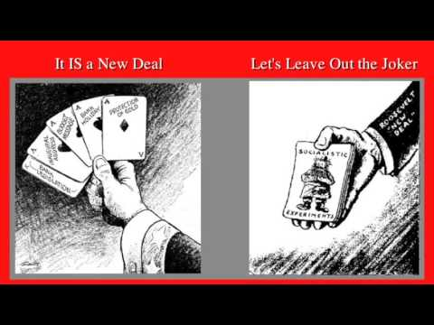 NEW DEAL EDITORIAL CARTOONS