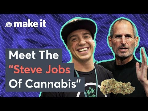 Meet The 'Steve Jobs Of Cannabis' Millionaire Entrepreneur