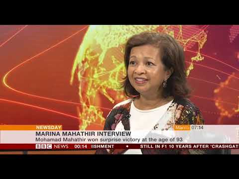 BBC World News --- Marina Mahathir -- Latest Video --- Full Interview --- 13th September 2018