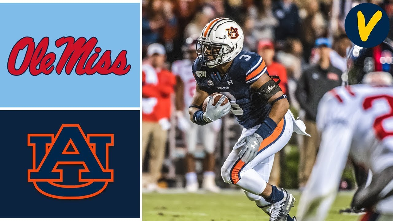 Ole Miss vs #11 Auburn Highlights | Week 10 | College Football 2019