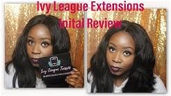 No Credit Check Payment Plan on RAW Virgin Hair?! | Ivy League Tresses Inital Review (KnoKnoFuri)