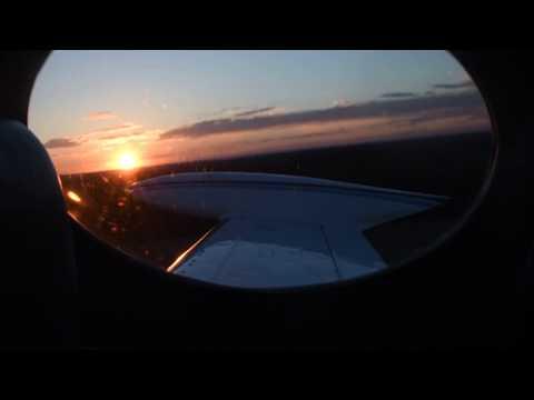 Cessna 340 sunset departure from KHRJ [4K]