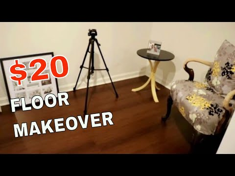 Dollar tree - DIY Contact paper floor covering HACKS!