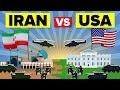 USA vs IRAN: Who Would Win? - Military / Army Comparison 2019