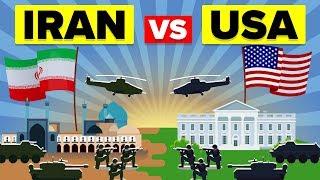 USA vs IRAN: Wer Würde Gewinnen? - Militär / Armee-Vergleich 2019