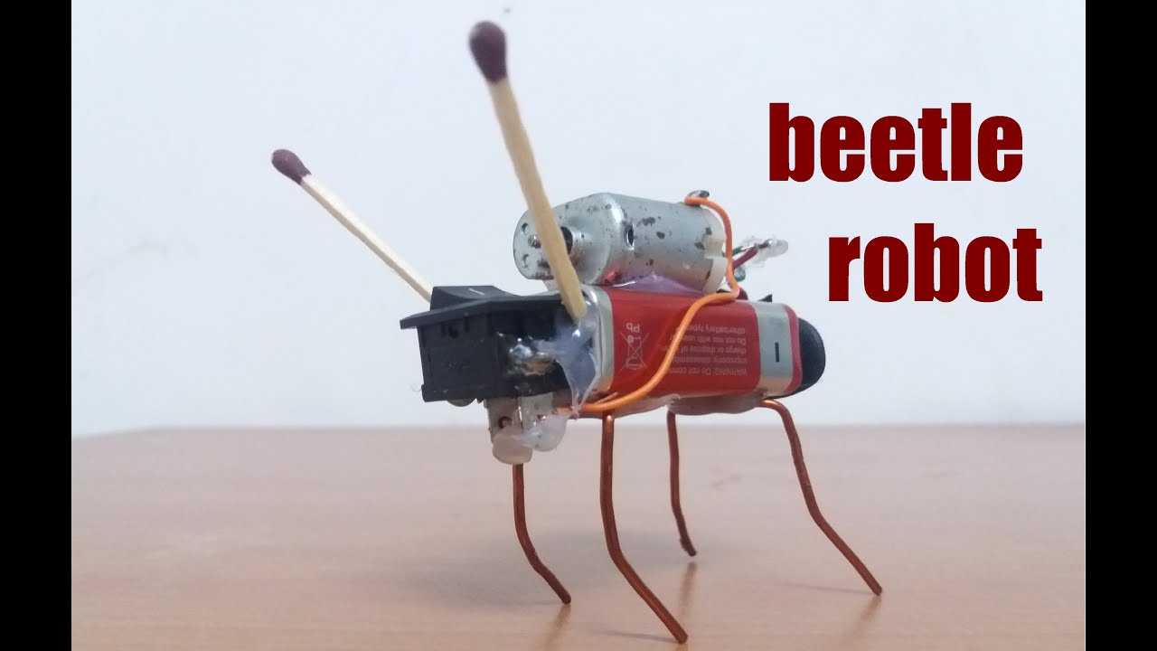 How to make simple insect robot | DIY - YouTube