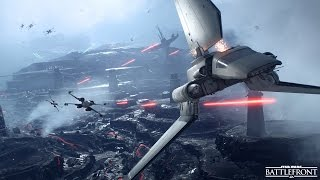 Star Wars Battlefront Fighter Squadron LIVE No Commentary Gameplay PS4 60FPS