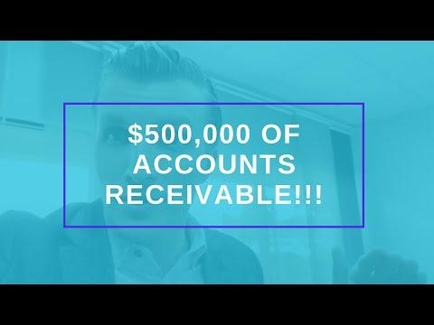 $500,000 OF ACCOUNTS RECEIVABLE!!!