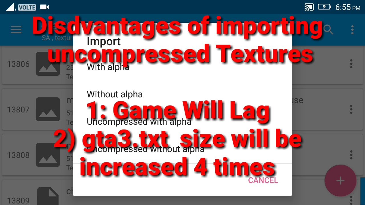 TXD Tool Explained Tutorial| Advance Features | What is uncompressed  texture| Download