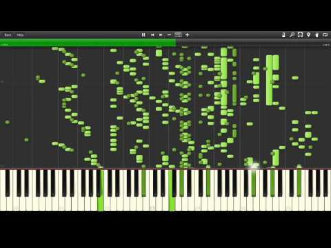 (Star Wars) Cantina Song #2 - mp3 to midi - Synthesia