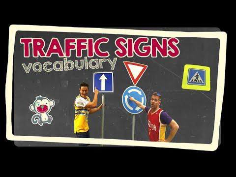 Traffic signs - English vocabulary