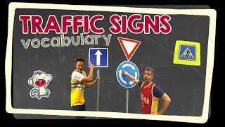 Traffic signs - English vocabulary