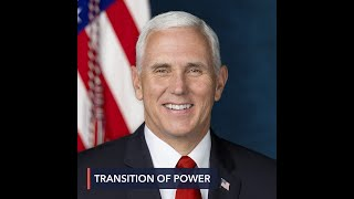 Pence vows to honor US history, ensure safe inauguration of new president