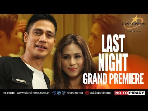 Last Night Grand Premiere