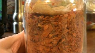 Making Tomato Powder Out Of Dehydrated Tomatoes