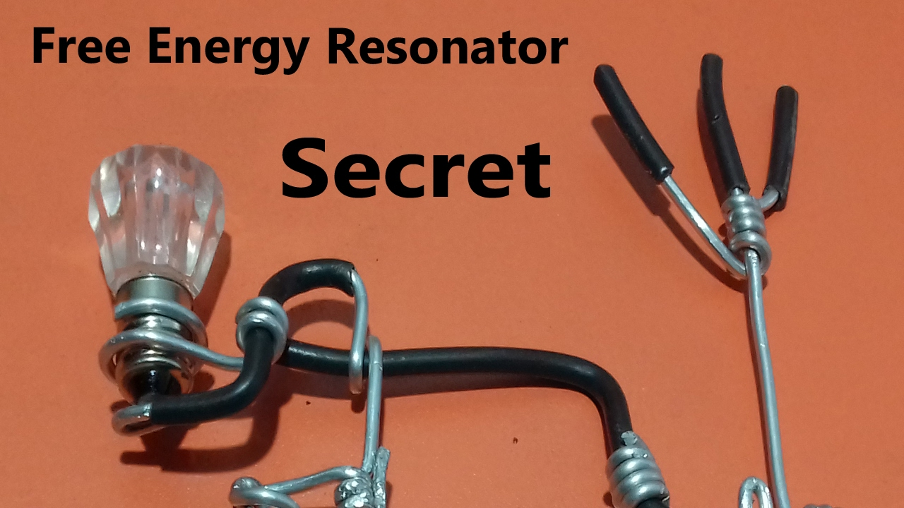 secret free energy resonator