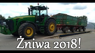 Żniwa 2018! - TeamMichalski - Pożegnanie John Deere 7530 Premium!