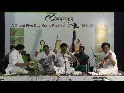 Carnatic Music Concert | Kunnakudi Balamuralikrishna | Maarga Music Festival | December Season 2016
