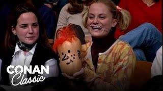Andy's Little Sister Invites Conan To Thanksgiving Dinner - 'Late Night With Conan O'Brien'