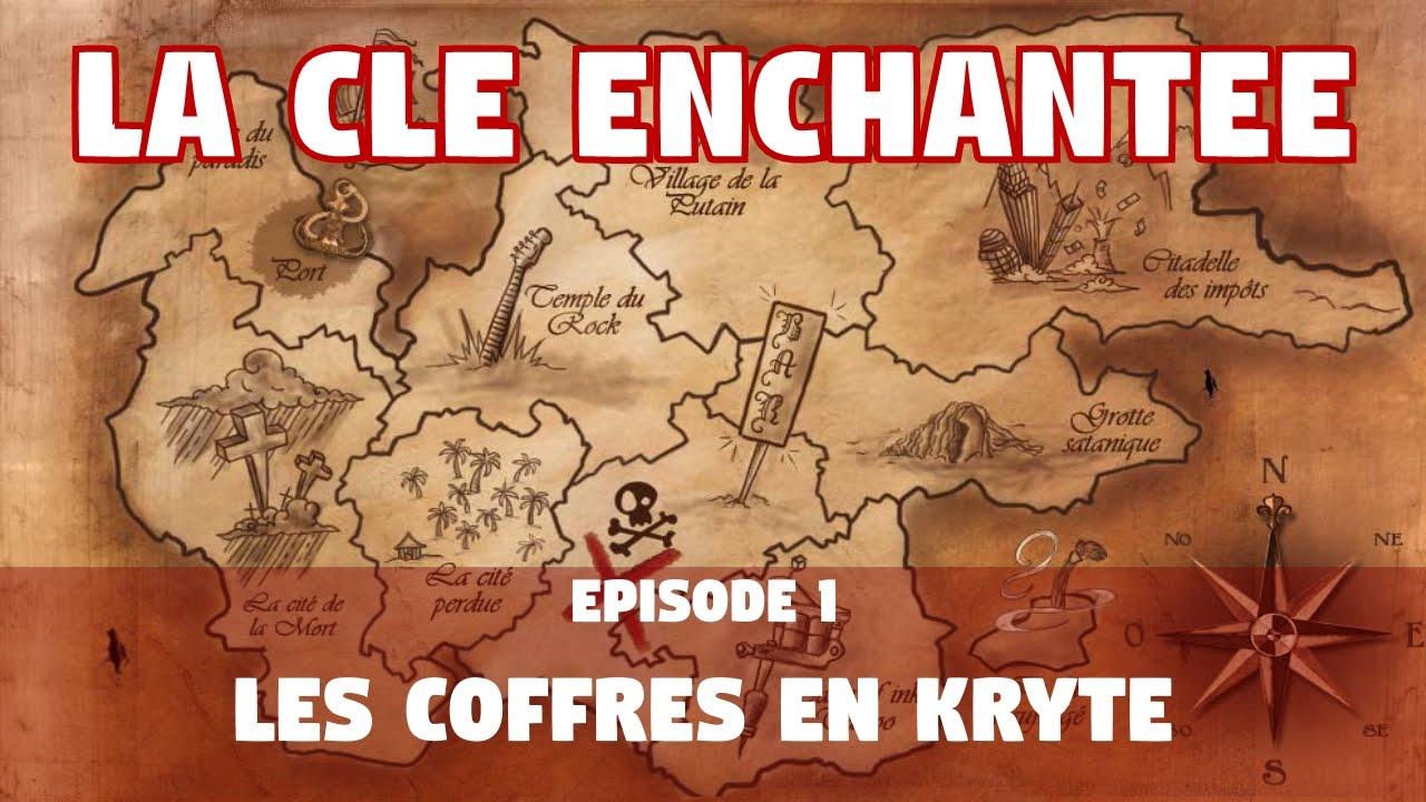 Carte Au Tresor Enchante Gw2.Guild Wars 2 La Cle Enchantee Ep 1 Les Coffres En Kryte