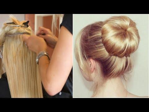 Elegant BUN Hairstyle  EASY Updo Hairstyles|गर्ल्स न्यू हेयर स्टाइल्स