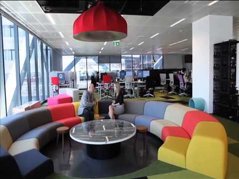 The Art of Work - Macquarie Bank fit-out