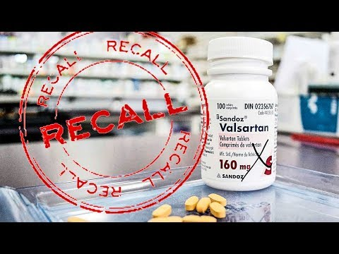 Valsartan Recalled For Cancer Causing Chemical Contamination. Lawsuits to Follow