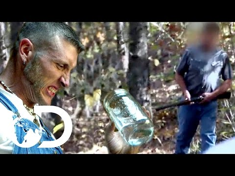 Caught with 55 Gallons of Moonshine  Moonshiners