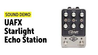 UAFX Starlight Echo Station - Sound Demo (no talking)