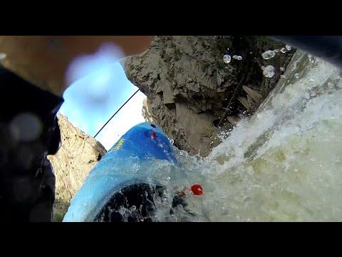 Gopro - Kayaking the Royal Gorge of the Arkansas River at 4400 - 4700 cfs