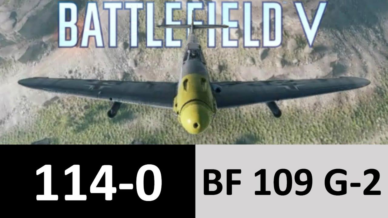 G-2 AIR-STRIKE | 114 killstreak | Fighter plane gameplay | BF5