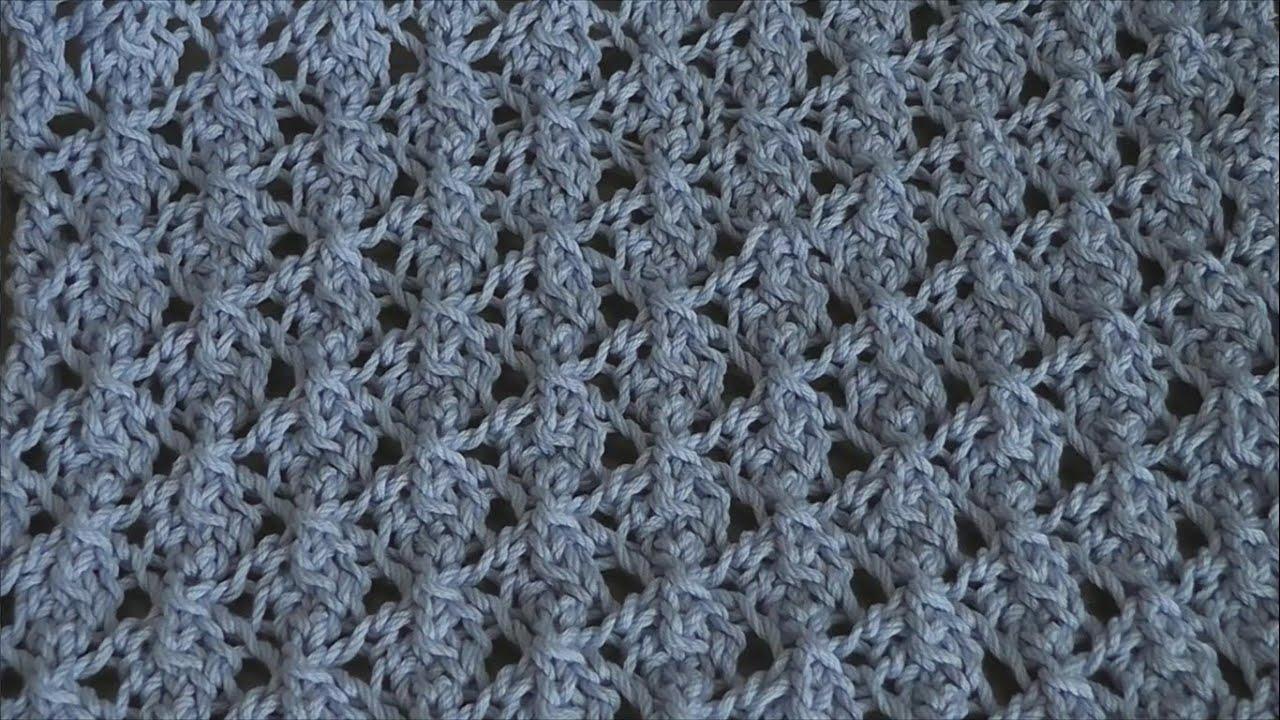 Knitting Pattern Example : Knitting - Lace Knitting Pattern Tutorial 1 ??????? ???? ??????? - YouTube