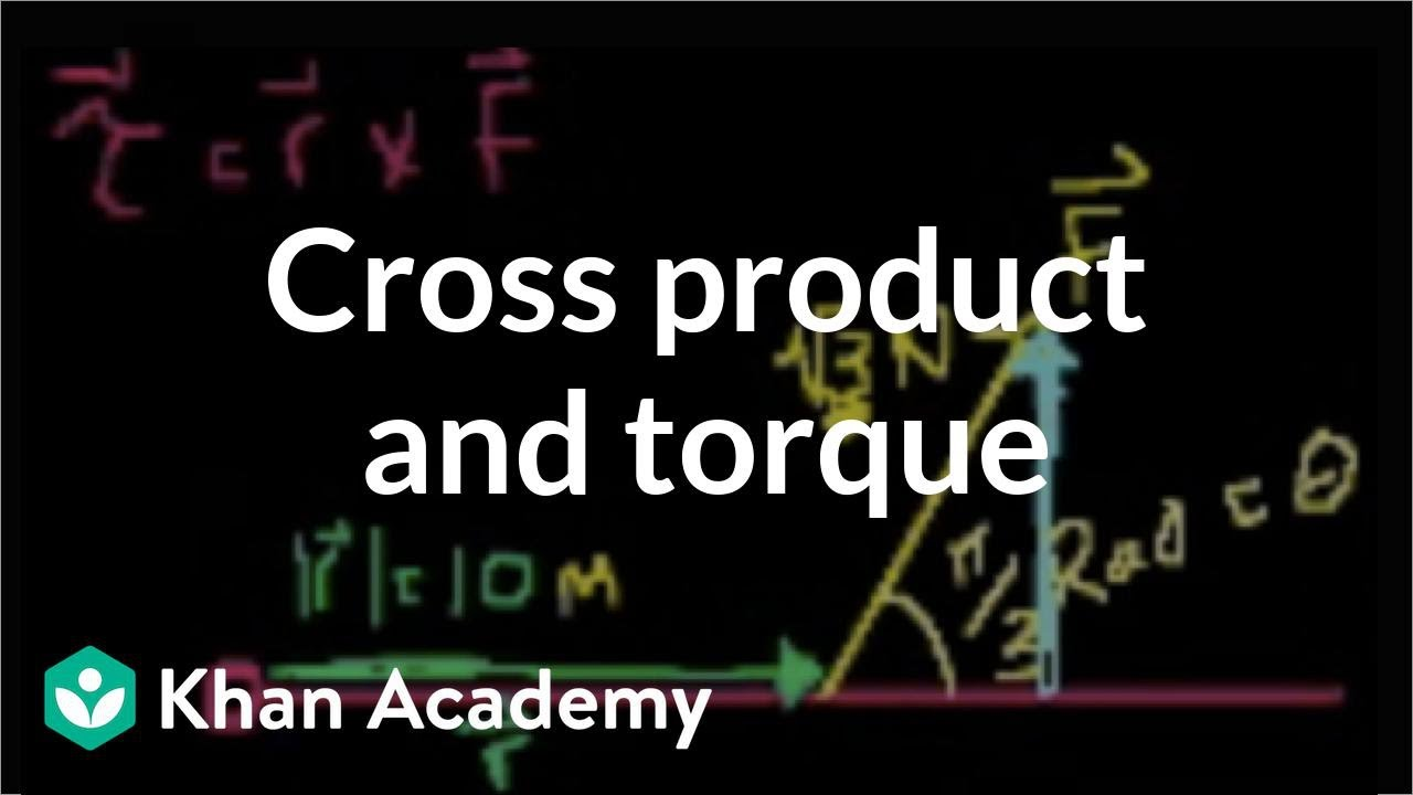 Cross product and torque (video) | Khan Academy