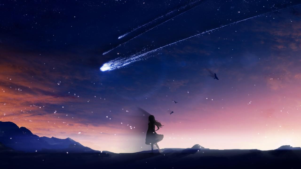 Falling From Stars Wallpaper 자작곡 카폴 Stardust Youtube