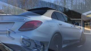 MERCEDES C63 AMG 'S' 504bhp EDITION 1 for sale Castle Motors