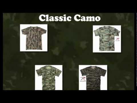 Rothco Military Camo T-Shirts