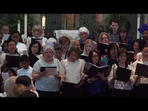 Final song all choir OLG 2018
