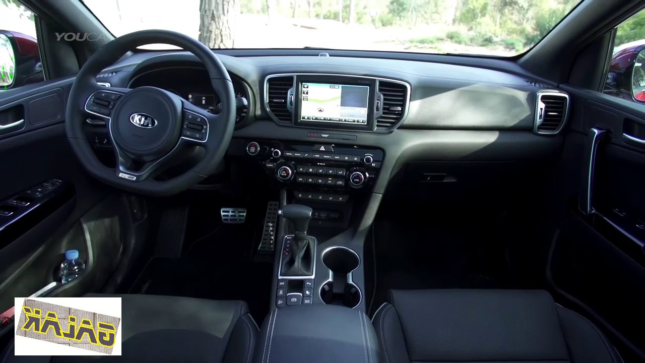 2018 kia sportage gt line interior all new youtube. Black Bedroom Furniture Sets. Home Design Ideas