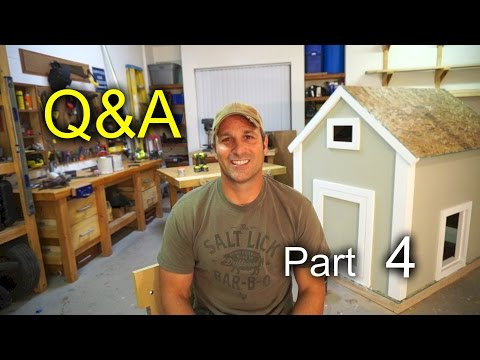 Q & A #4: What am I listening too, am I off grid, etc,.