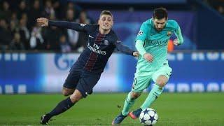 Lionel Messi vs Marco Verratti.