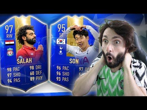 FINALE LIGE PRVAKA DRAFT CHALLENGE!! LIVERPOOL & TOTTENHAM FIFA 19