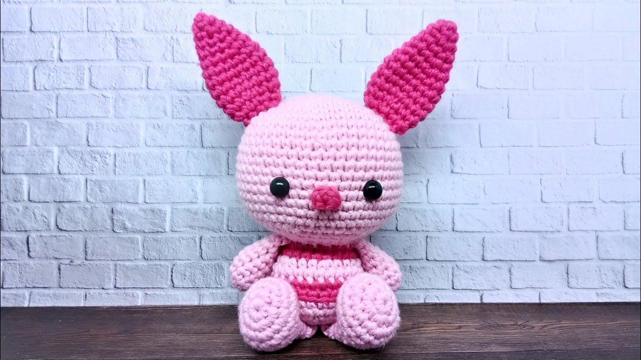 Piglet (Winnie the Pooh) Amigurumi Pattern ⋆ Crochet Kingdom   720x1280