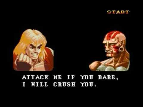 Super Street Fighter II: The New Challengers (Genesis) - Ken Longplay