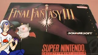 Final Fantasy III (VI) SNES Unboxing