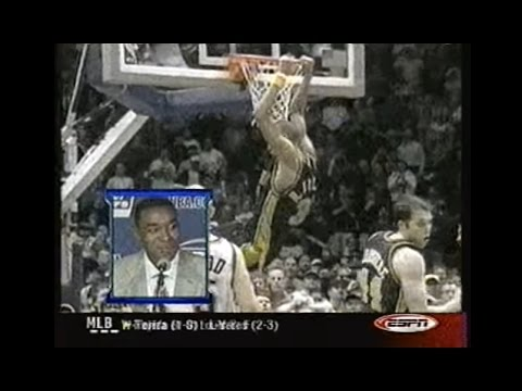 Reggie Miller Buzzer Beater   Dunk - (Pacers Nets Double OT Playoff  Highlights) 33899e616