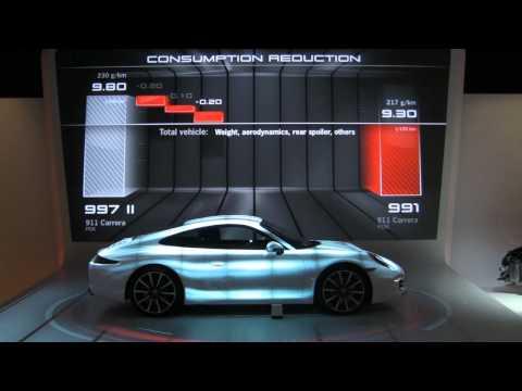 Stereolize Press Launch Porsche 911 USA    Ventuz