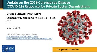 CDC Partner Update on COVID-19: Private Sector - May 11, 2020